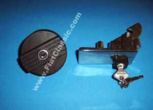 Heckklappenschloß mit Tankdeckel
